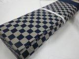 和風ファブリック ムラ糸染め生地 40A・B 格子柄(藍白) 幅110cm(柄部分の幅90cm) 1,296円/m